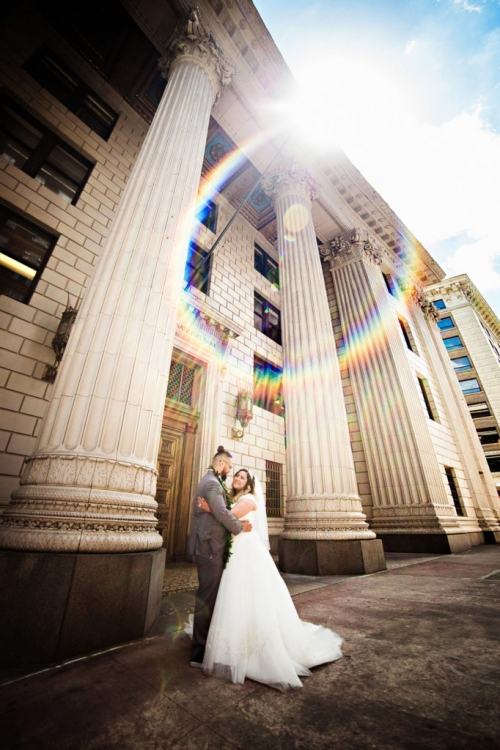 Treasury Ballroom Portland Wedding Photography