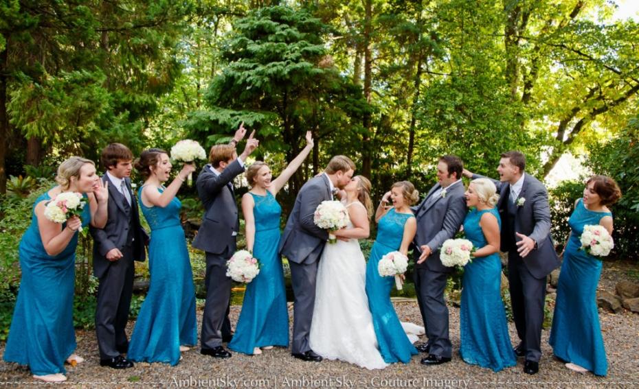 Gray Gables Wedding Bridal Party
