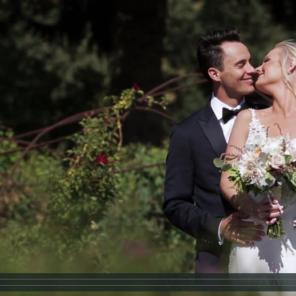 Mt. Hood BnB Wedding Videography