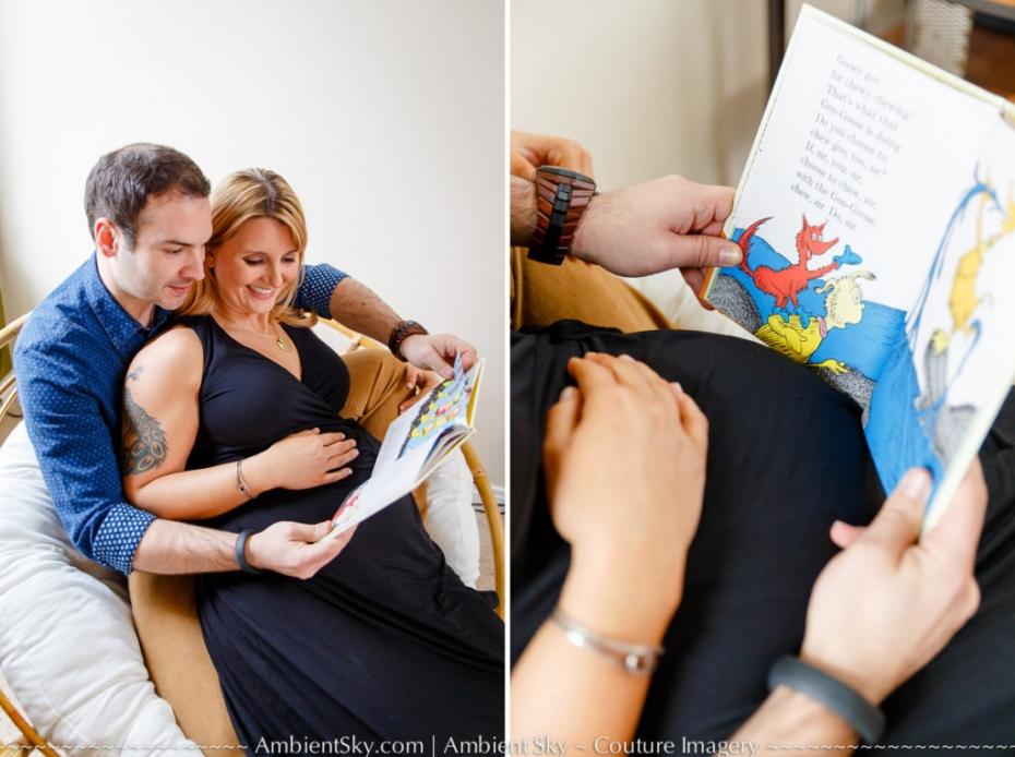 Dr. Seuss Portland Maternity Photos