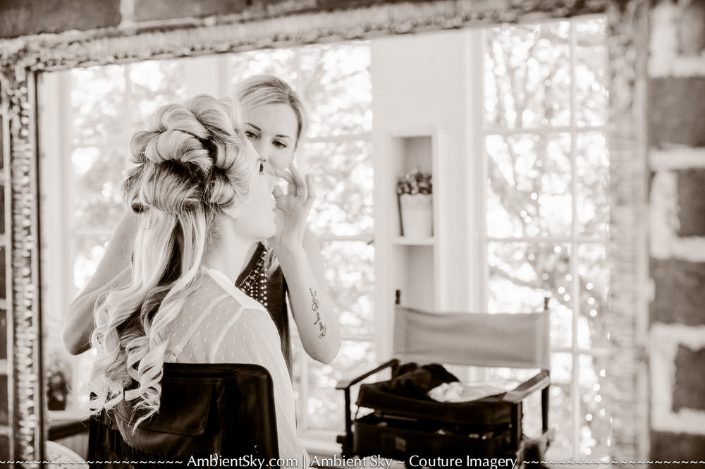 Portland Wedding Photography Getting Ready Bride