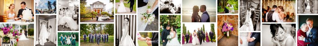 Montage of Portland Wedding Photography