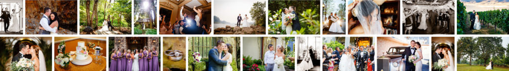 Collage of Portland Wedding Photography