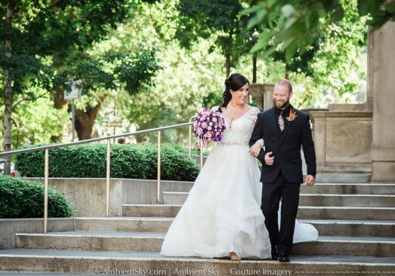 Portland Art Museum Wedding Photography