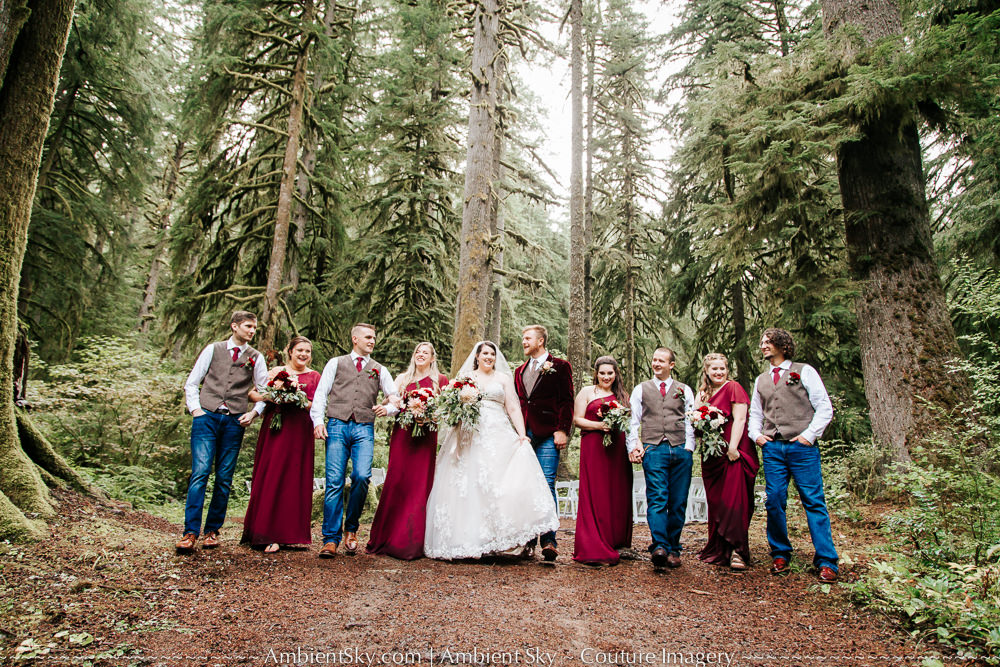 Silver Falls Wedding Photography