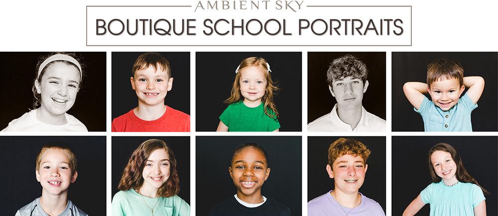 Distance learning school portraits for Beaverton, Tigard, Hillsboro, Tanasbourne, Portland Area