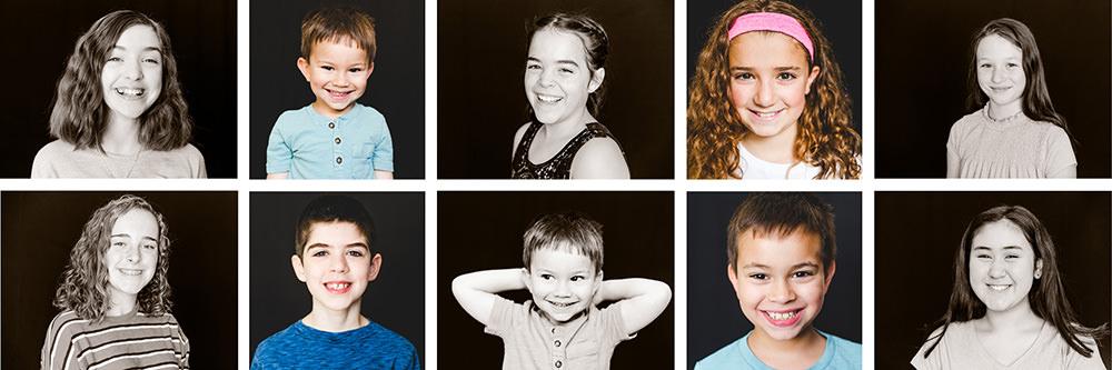 Distance learning school portraits Portland Metro Area